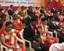 Mangaluru: 19 couples wedded at 43rd Mass Wedding Ceremony at Rosario Cathedral