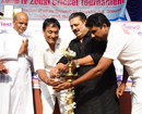 Mangaluru: Sports Promoters owner Sadanand Shetty inaugurates Rotary Club Cricket Tourney