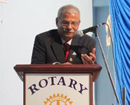 Udupi: Rotary district governor Dr Bharatesh visits Rotary Club � Manipura