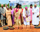 Mangaluru: Bishop Dr Aloysius lays foundation for Ryan International School at Kulai