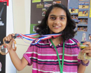 Beltangady: SDM School student Esha Sharma bags bronze in Asian School Chess Championship