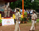 Commissioner receives guard of honour at Service Parade