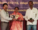Udupi: Traditional Medicinal Practitioner Shalini Amin Shirva felicitated on Women's Day