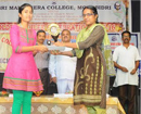 Puttur: St Philomena College student Josvita wins 1st prize in elocution competition