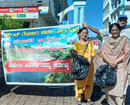 Mangaluru: Ramakrishna Mission carries out Swacchata Abhiyan in Service Bus Stand