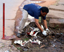 Mangaluru: Ramakrishna Mission carries out 15th week of Cleanliness Drive in city