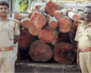 Bantwal: Foresters seize pickup-truck illegally transporting timber-logs in Manila village
