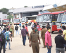 K'taka transport unions protest affects bus service