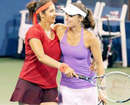 Paes, Sania lose in US Open doubles