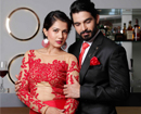Designer Asif Merchant unveils Valentine�s day Collection with Model and Actor Gwen Athaide