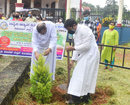 Mangaluru: Nature-lovers observe Vanamahotsav at Tokkottu circle on NH