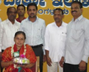 M'luru: DK district Info Dept bids adieu to office staff A Savitri