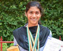St Aloysius PU College student Venessa bags 3 bronzes in National Athletic Championship