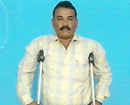 Udupi: Wilfred Gomes, physically challenged contesting in GP elections in Pilar