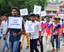 Mangaluru: Youngsters take part in 'Youth March for Christ'