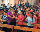 Puttur: 200 youths attend Lenten Retreat at Mai De Deus Church