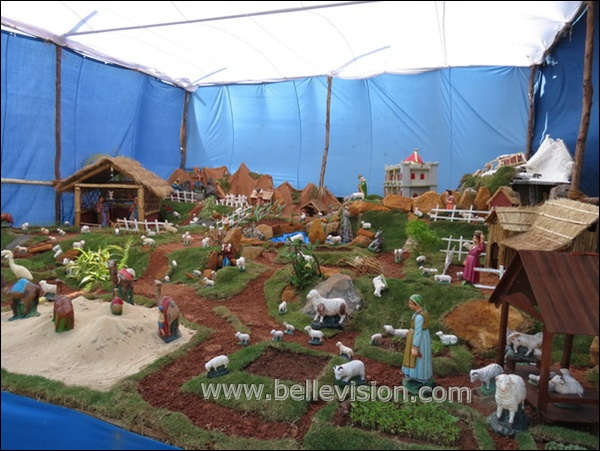Other Characters From The Nativity Story Such As Shepherds And Sheep Angels May Be Displayed Near Manger In A Barn Or Cave Intended To