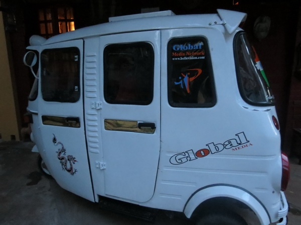 Modified Bajaj Auto Rickshaw