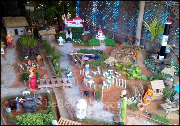 The Christmas Crib That Has Been Erected Besides Main Road Between Shirva Bantakal Katpady Which Comes Under Limits Of Pamboor Parish