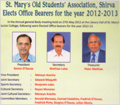 president and commitee members of smosa shirva