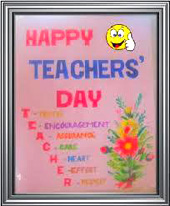 TO ALL TEACHERS