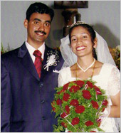 Ashok and Sandra Dsouza