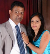 Roshan and Pramila