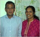 Dad and Mom( Felix Dsouza  Helen Dsouza)
